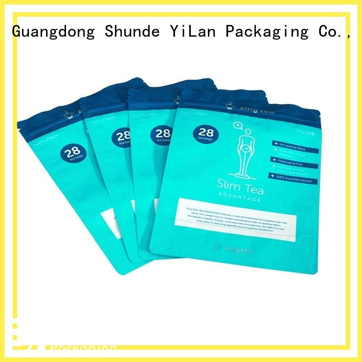 YiLan Packaging New custom stand up pouches Supply for food
