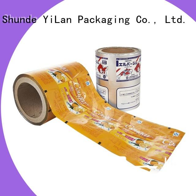 YiLan Packaging excellent laminated packaging films for indoor/outdoor