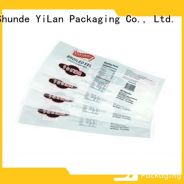 YiLan Packaging Custom stand up pouch bags Supply for storage