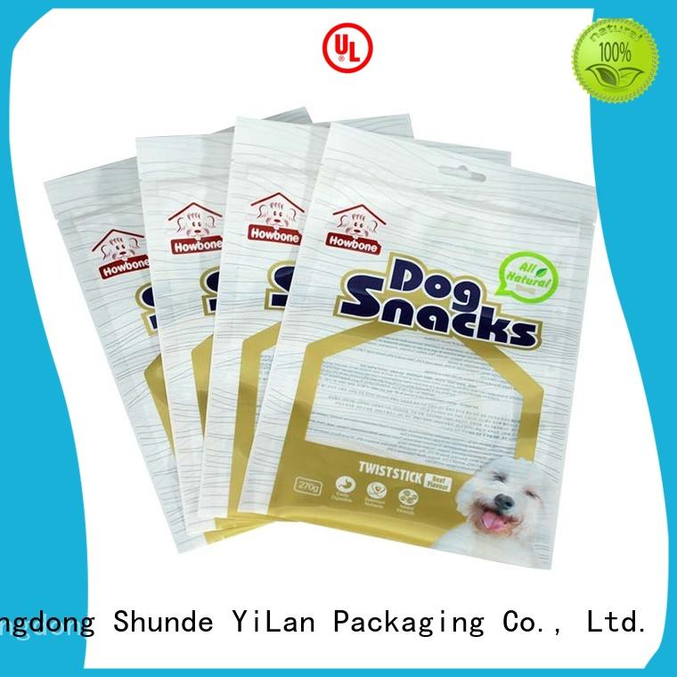 sealed eel YiLan Packaging Brand ziplock stand up pouches