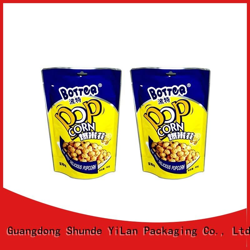 Custom resealable food packaging chews Supply for food