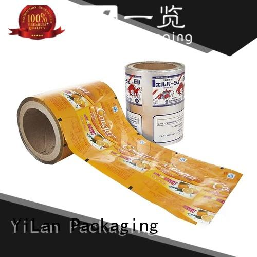 YiLan Packaging electrical packaging film roll for indoor/outdoor
