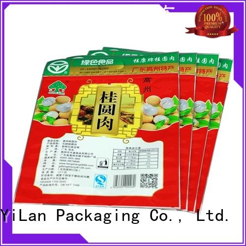 YiLan Packaging translucent food packaging bags with strict quality control system for candy bag