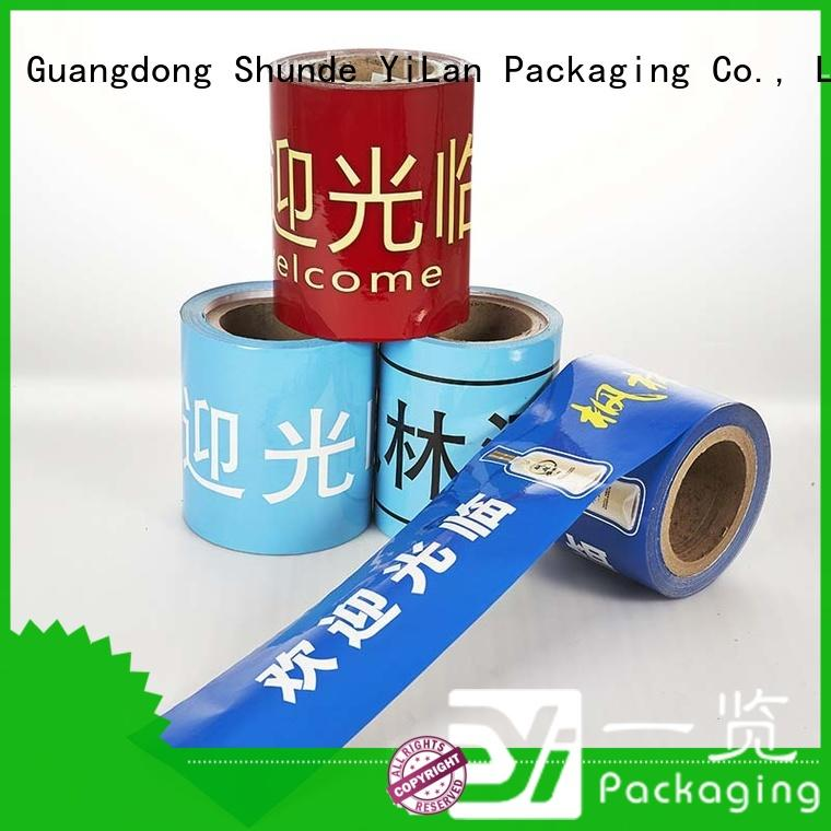 YiLan Packaging experienced packaging film roll with quality assurance for decoration