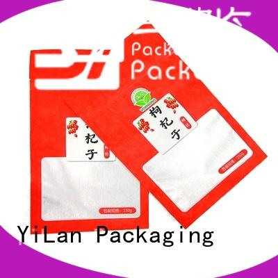 YiLan Packaging zipper food packaging bags on sale for storage