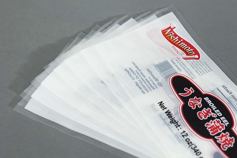 translucent three side seal pouch on sale for storage