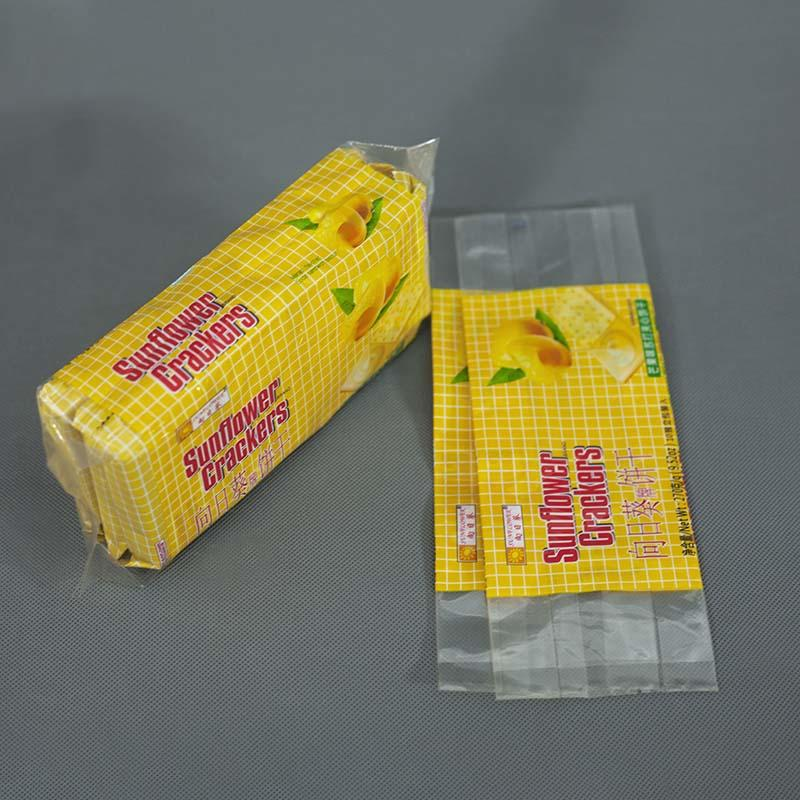 Fin/Lap sealed with side gusseted Pouch Biscuits Bag