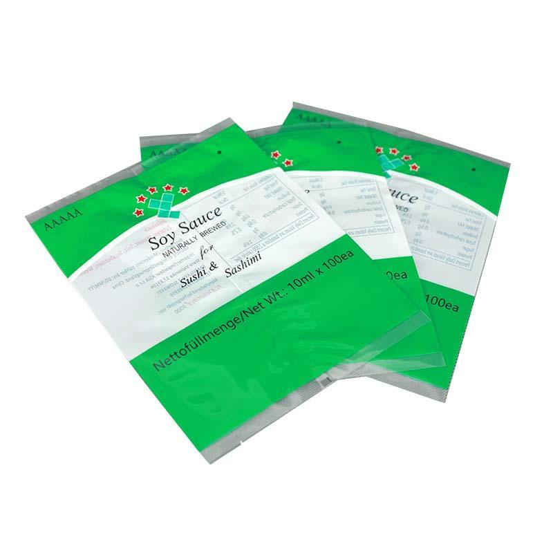 Translucent Fin/Lap sealed bag