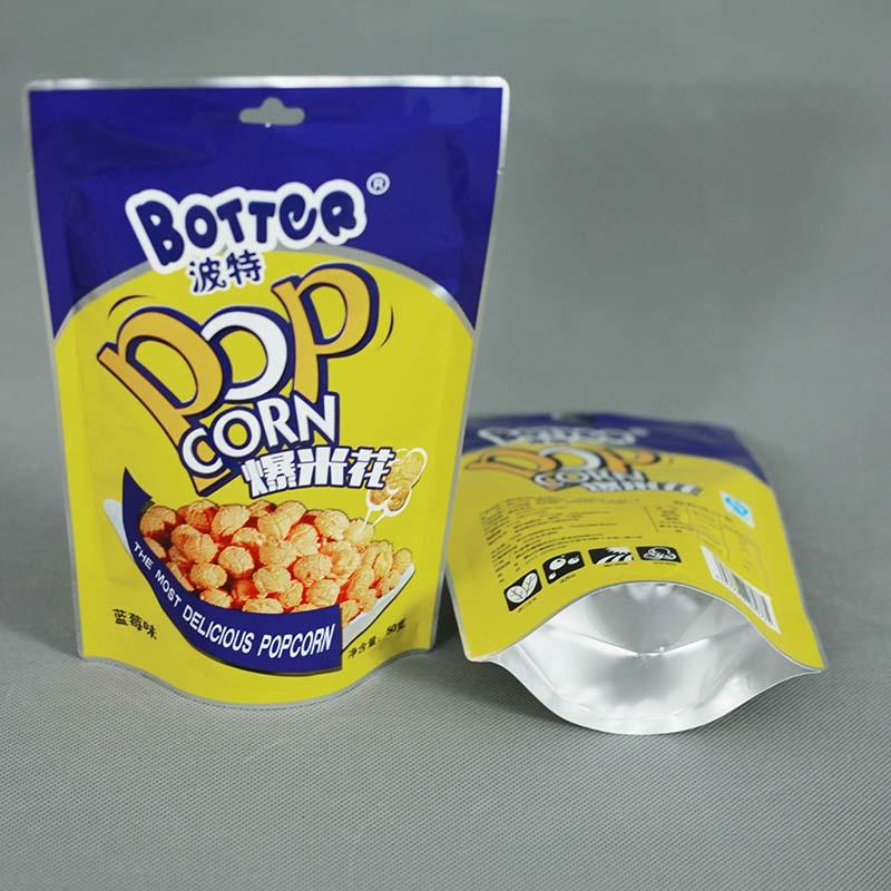 Color-printing Stand-up pouch Popcorn bag