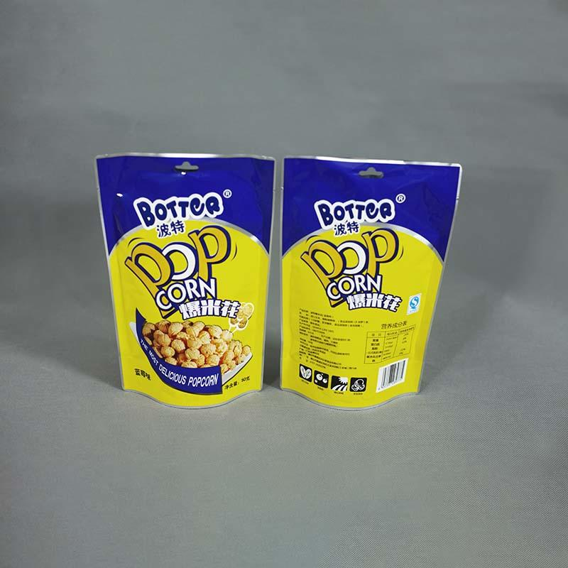 High-quality resealable pouch bags ginger factory for food