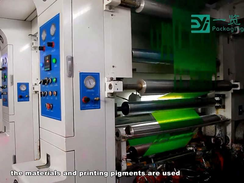 Film coiling production process