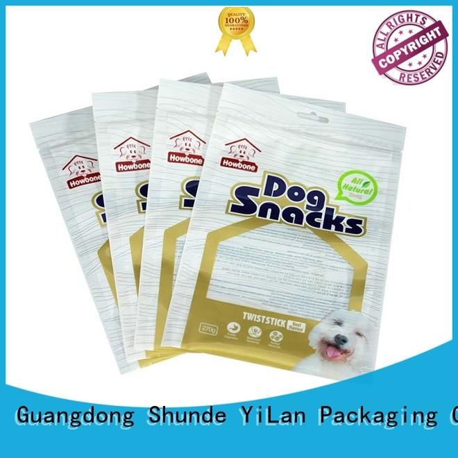 experienced 3 side seal bag with strict quality control system