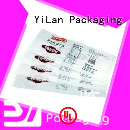YiLan Packaging sides stand up pouch bags on sale for food