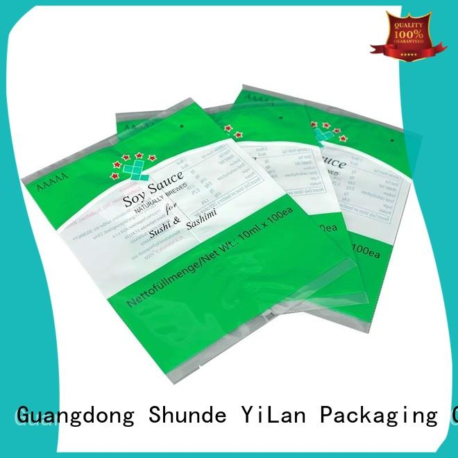 YiLan Packaging exquisite flexible pouches packaging with strict quality control system for backage