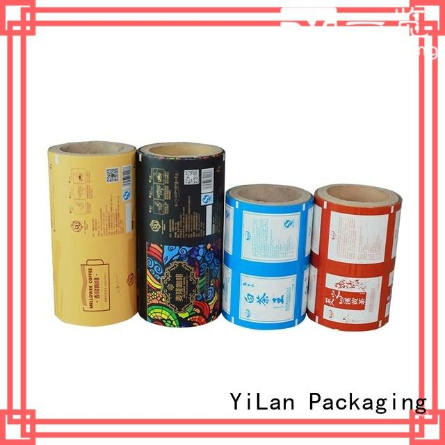 YiLan Packaging film packaging film roll factory for decoration