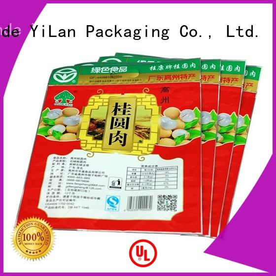 YiLan Packaging advanced three side seal pouch with quality assurance for storage