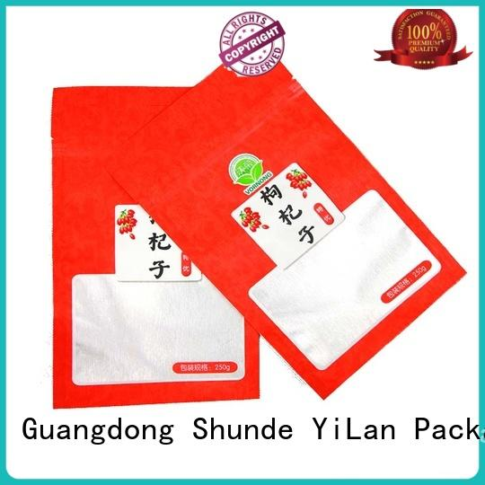YiLan Packaging snacks seal pouches with quality assurance for candy bag