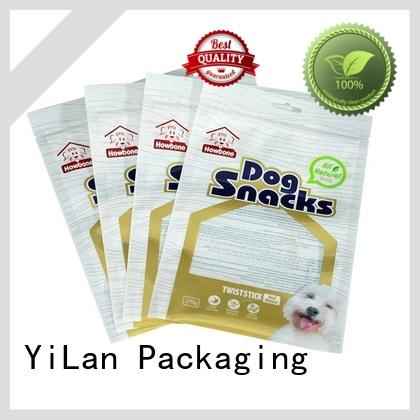 YiLan Packaging sealed stand up pouch bags with quality assurance for food