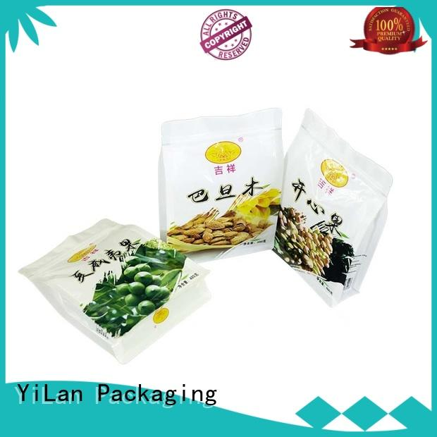 YiLan Packaging nuts side gusset pouch on sale for gift