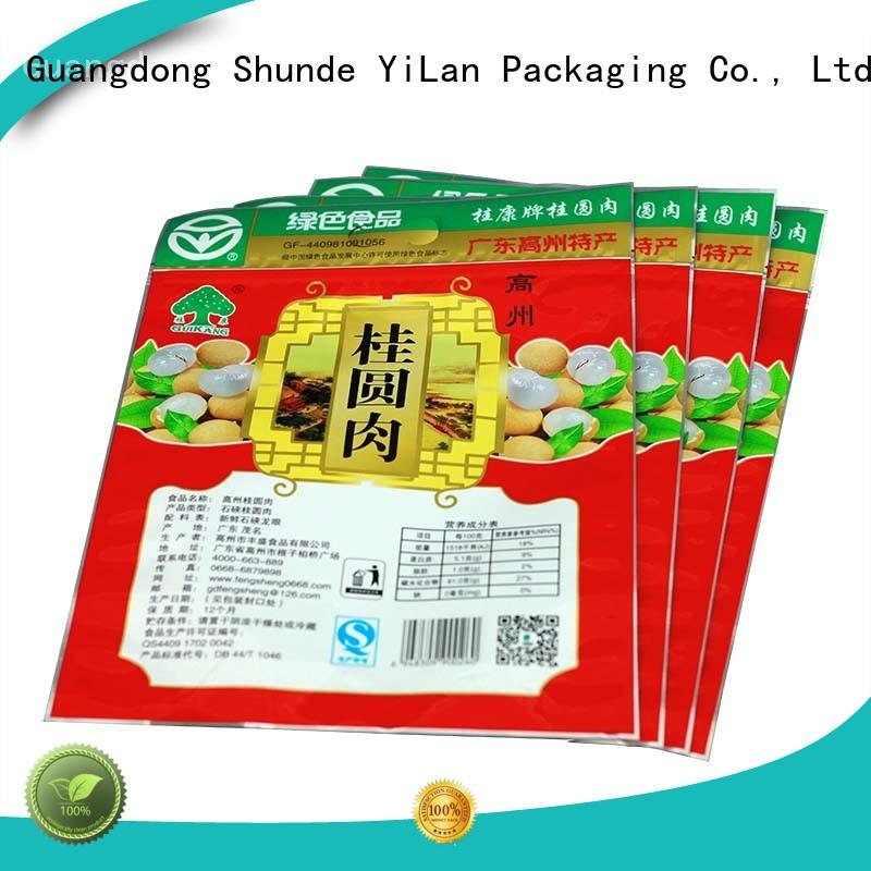 custom stand up pouch packaging sides with quality assurance for candy bag