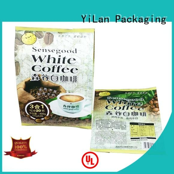 YiLan Packaging translucent fin seal packaging with quality assurance for gift
