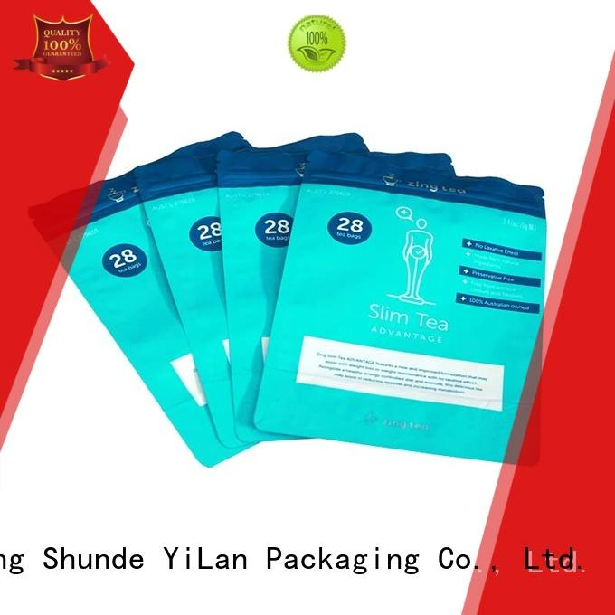 YiLan Packaging online custom stand up pouches with strict quality control system for mask