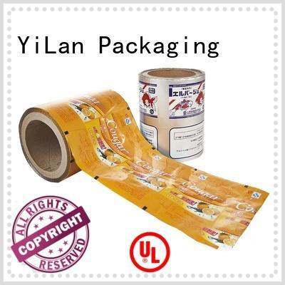 packaging film food for advertising YiLan Packaging