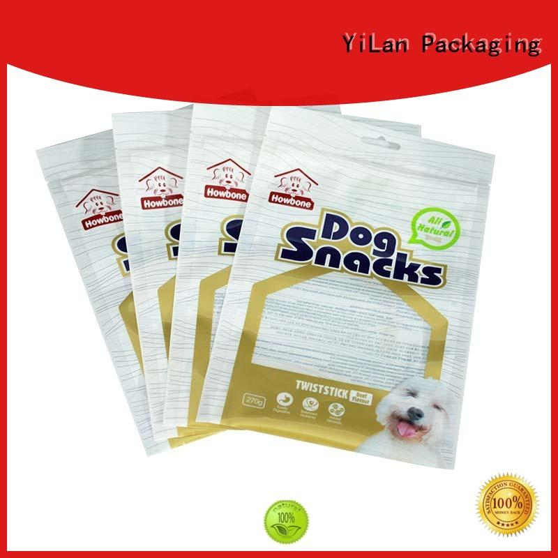 YiLan Packaging snacks stand up pouch packaging with strict quality control system for candy bag