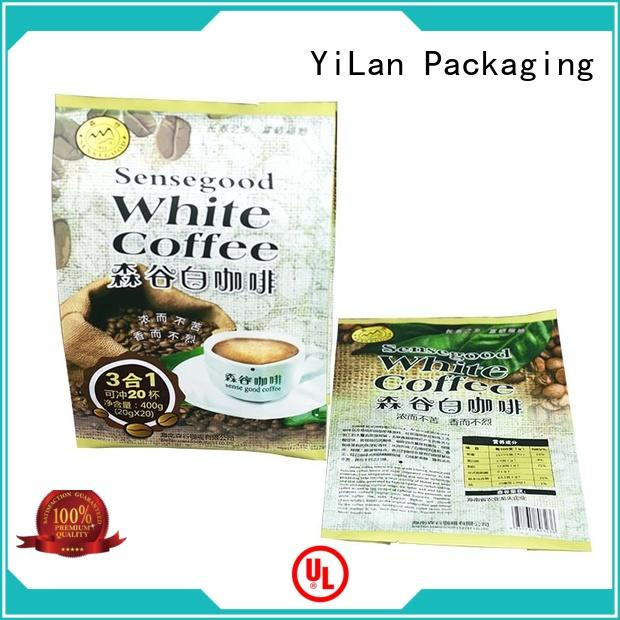 YiLan Packaging pouch fin seal packaging with quality assurance for cookies