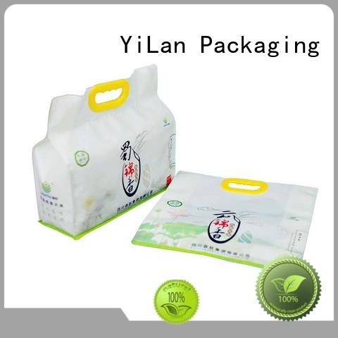 YiLan Packaging rice side gusset pouch on sale for food
