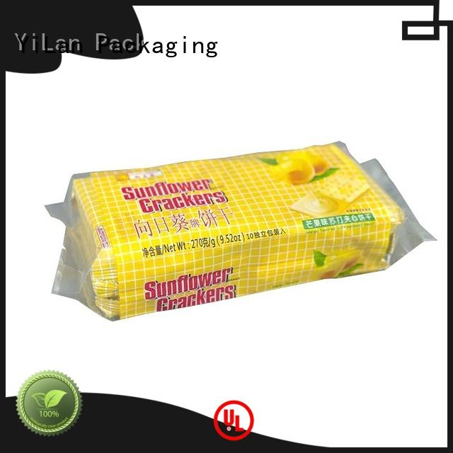 YiLan Packaging gusseted gusseted bags easy to open for backage