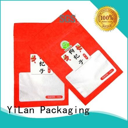YiLan Packaging professional stand up pouch packaging on sale for pop corn