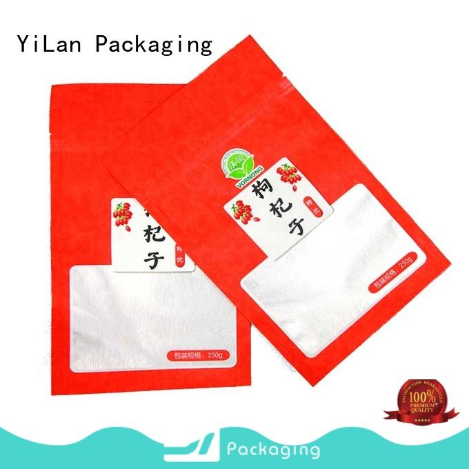 YiLan Packaging sausage stand up pouch packaging with quality assurance for candy bag
