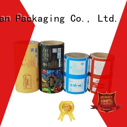 film laminated packaging films supplies for advertising YiLan Packaging