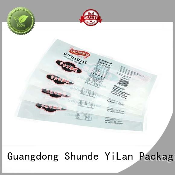 YiLan Packaging dog stand up pouch packaging with strict quality control system for candy bag