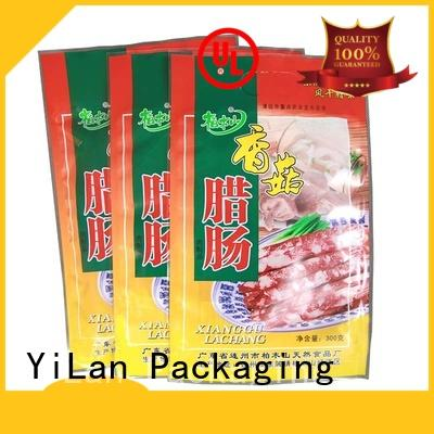 ziplock stand up pouches dog iqian 3 side seal pouch YiLan Packaging Brand