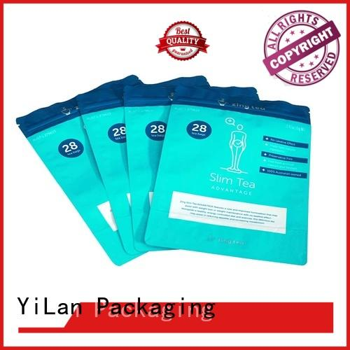 YiLan Packaging ginger custom stand up pouches with quality assurance for food