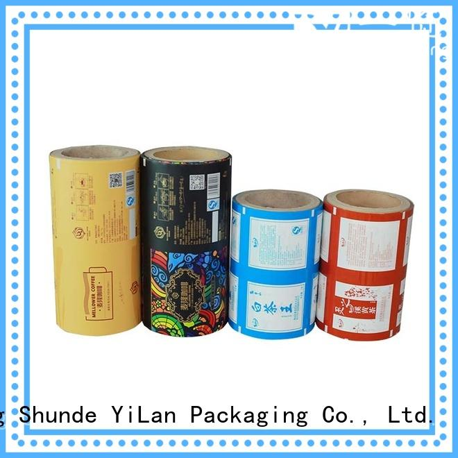 YiLan Packaging High-quality packaging film manufacturers for advertising