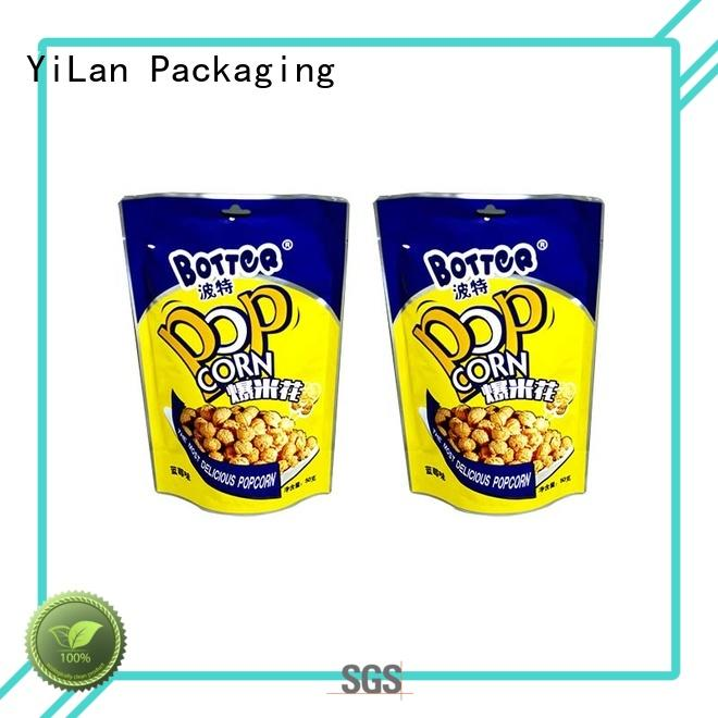 reliable stand up barrier pouches zipper with quality assurance for food