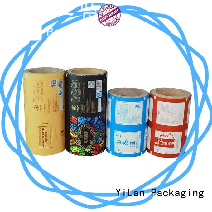 YiLan Packaging custom laminated packaging films with strict quality control system for indoor/outdoor