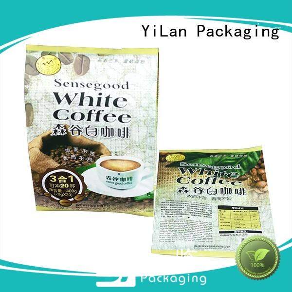 YiLan Packaging pouch gusseted bags with quality assurance for backage