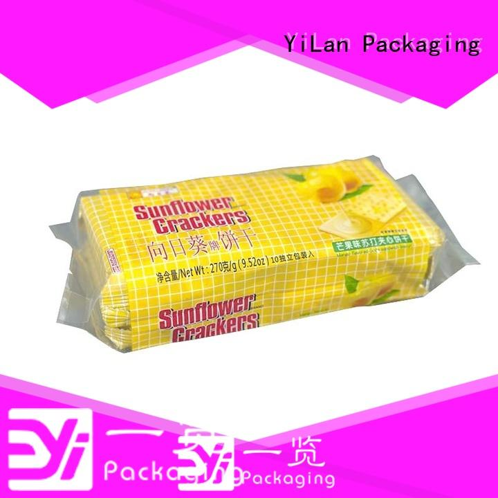YiLan Packaging reliable center seal pouch easy to open for gift