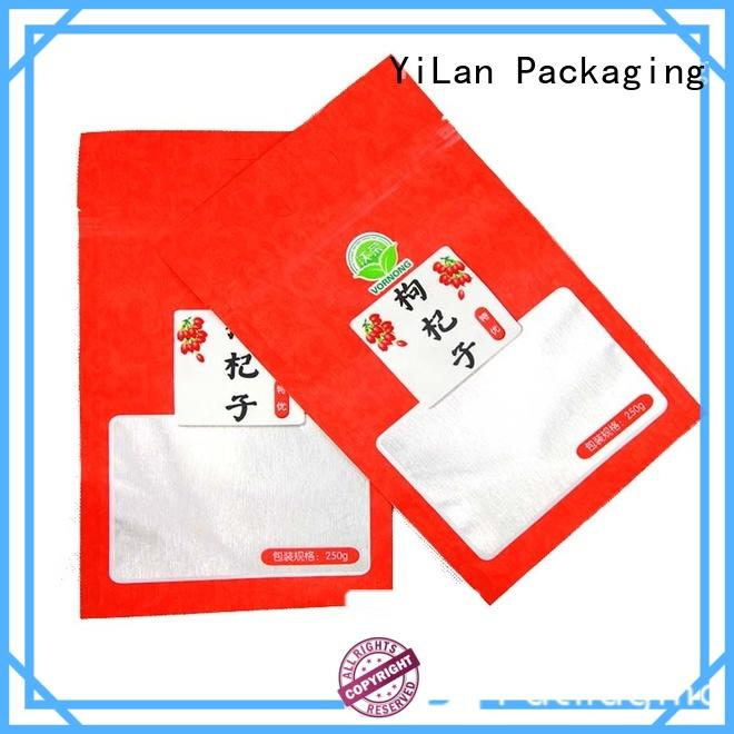 YiLan Packaging three three side seal pouch with quality assurance for candy bag