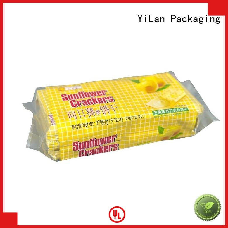 YiLan Packaging translucent flexible pouches packaging with strict quality control system for backage
