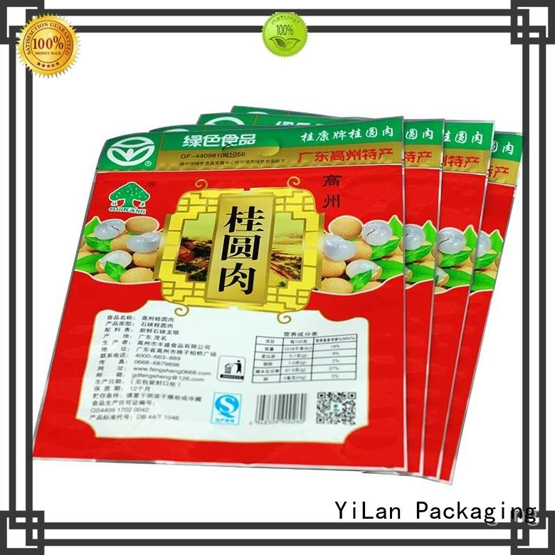 YiLan Packaging excellent food packaging bags with quality assurance for food