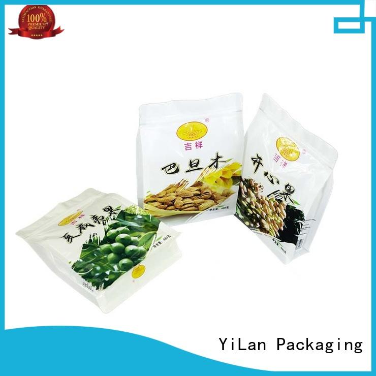 YiLan Packaging beautiful sealed packaging bags with strict quality control system for ergonomics