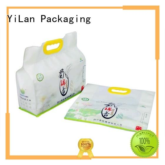 YiLan Packaging Brand bag nuts eight side seal pouch