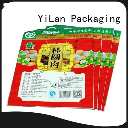 YiLan Packaging New stand up pouch packaging Supply for food