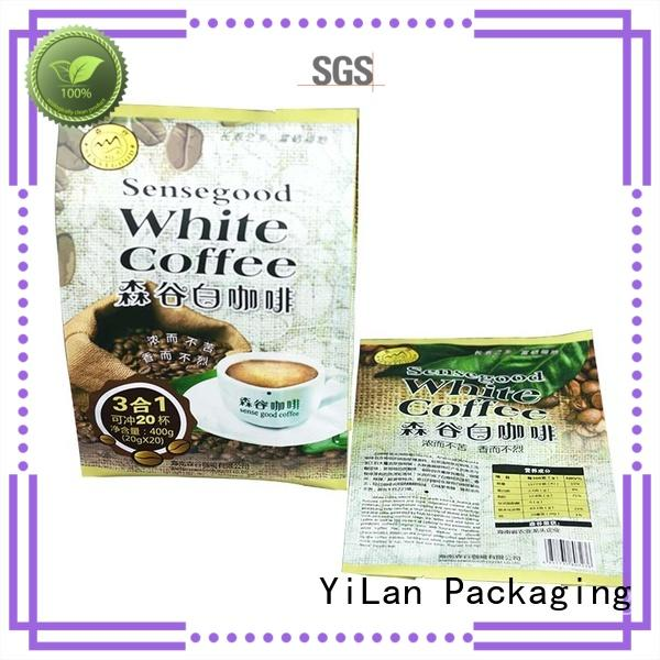 reliable fin seal packaging coffee easy to open for cookies