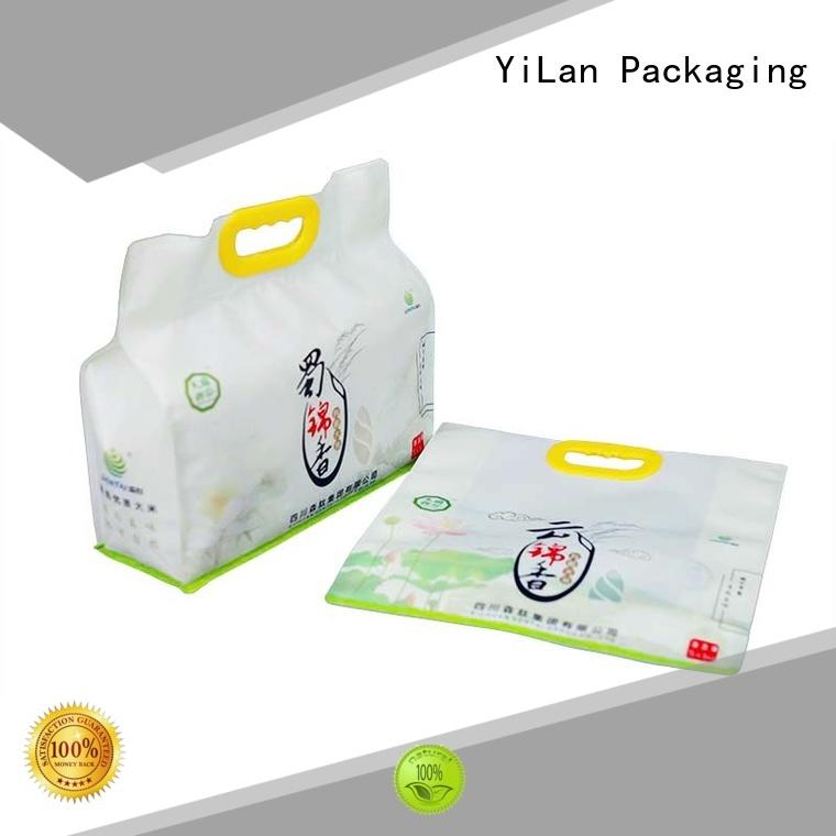 YiLan Packaging box side gusset pouch on sale for gift